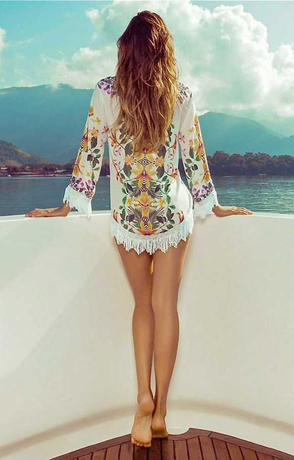 Áo khoác Kimono – Item cực hot cho mùa hè