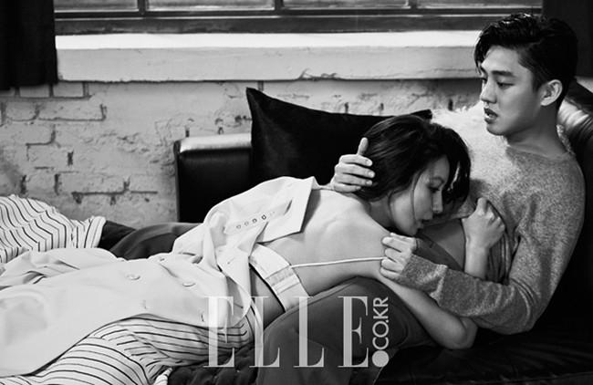 Yoo Ah In trở nên hấp dẫn hơn khi có những cảnh quay tình cảm với Kim Hee Ae.