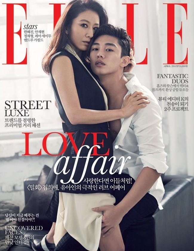 Dù chỉ chiếu trên kênh cáp nhưng mối tình 'phi công trẻ lái máy bay bà già' trong Secret love affair của Yoo Ah In và Kim Hee Ae vẫn đang thu hút sự quan tâm của nhiều khán giả. Trong phim, Yoo Ah In và Kim Hee Ae có không ít cảnh quay táo bạo.