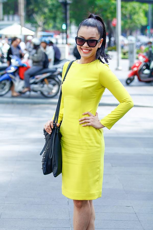 Nữ ca sỹ cho biết vì cuộc thi mà Phương Vy đã sụt mấy ký và nhờ đó vóc dáng đẹp hơn.