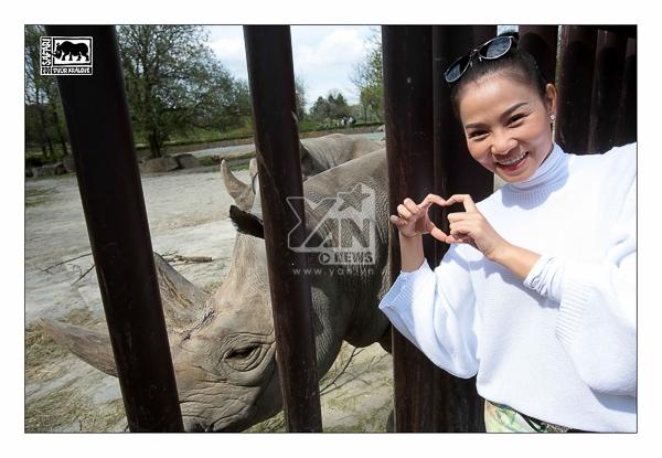 [Starbuzz] Thu Minh bỏ rơi chồng, tỏ tình với... tê giác