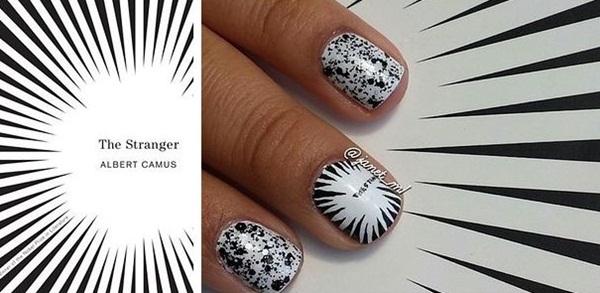Biến hình cá tính với những mẫu nail lấy cảm hứng từ sách