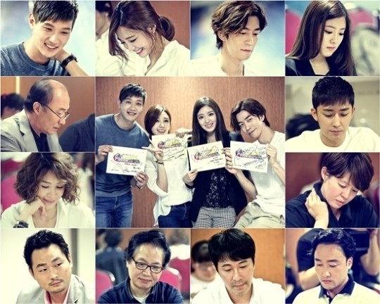 Eunji cùng ê kíp làm phim Trot Lovers