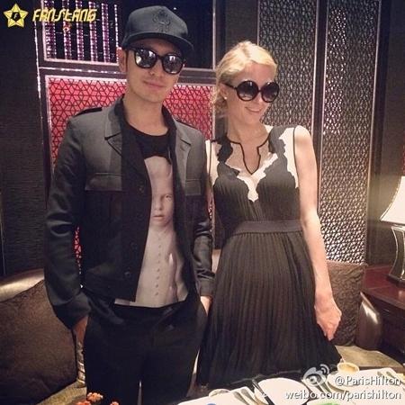 Huỳnh Hiểu Minh - Paris Hilton