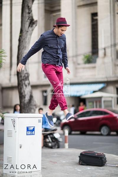 Bí kíp giúp các chàng diện quần sweatpants cực chất cho mùa hè