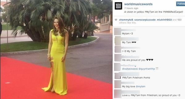 Mỹ Tâm khiến fan Việt bấn loạn khi xuất hiện tại lễ trao giải WMA - Tin sao Viet - Tin tuc sao Viet - Scandal sao Viet - Tin tuc cua Sao - Tin cua Sao