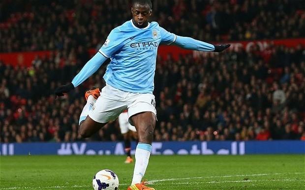 Yaya Toure có 2 chức vô địch Premier League trong 3 mùa vừa qua