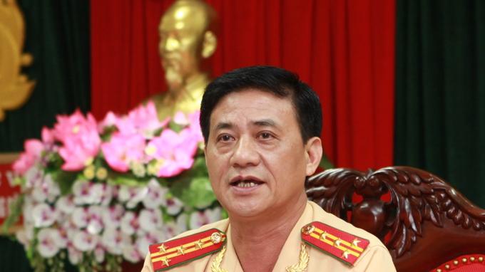 Đại tá Nguyễn Ngọc Tuấn - Phó Cục trưởng Cục CSGT đường bộ, đường sắt (C67- Bộ Công an) - Ảnh: T.Phùng