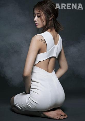 Jiyeon lột xác đầy quyến rũ trên tạp chí