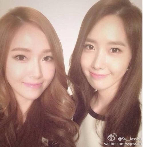 """Jessica cũng không quên thể hiện tình cảm với Yoona trên trang cá nhân: """"Chúc mừng sinh nhật em gái đáng yêu Yoona"""""""