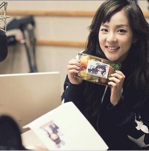 Dara khoe hình đáng yêu trong chương trình radio
