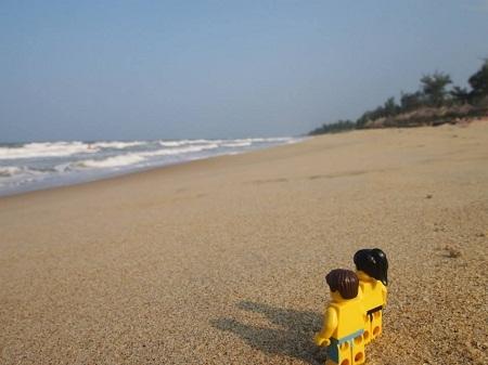 Một góc Sài Gòn đầy ấn tượng trong bộ ảnh... lego du lịch