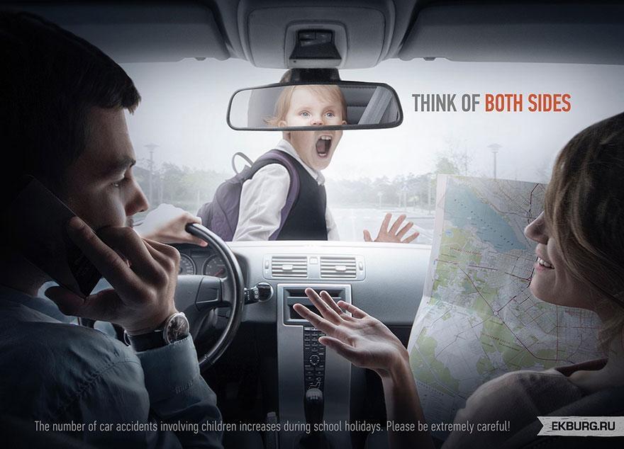 Những bức ảnh quảng cáo tuyên truyền sẽ khiến bạn phải lặng im và suy ngẫm (P.1)
