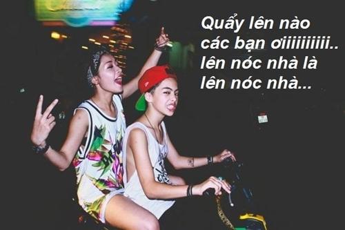 Scandal đi xe đạp điện không đội mũ bảo hiểm của Chi Pu cách đây không lâu được chế kèm theo một câu nói hài hước của giới trẻ.