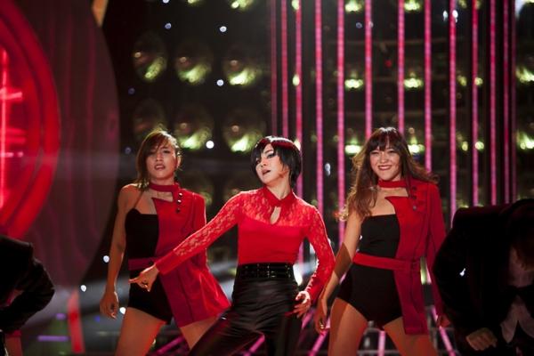 Lần đầu tiên chọn trúng một ca sĩ Hàn Quốc nhưng cô nàng khá tự tin vì có nhiều nét tương đồng với nhân vật.