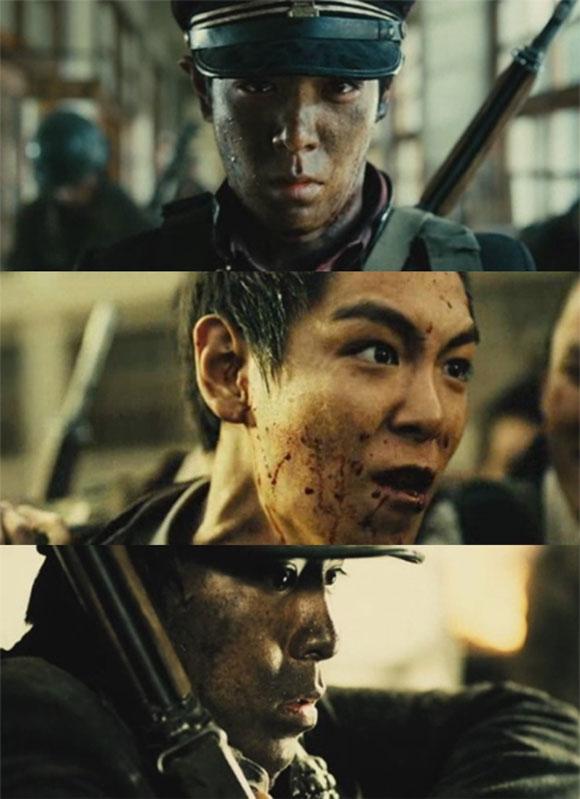 Hình ảnh bầm dập của T.O.P trong phim