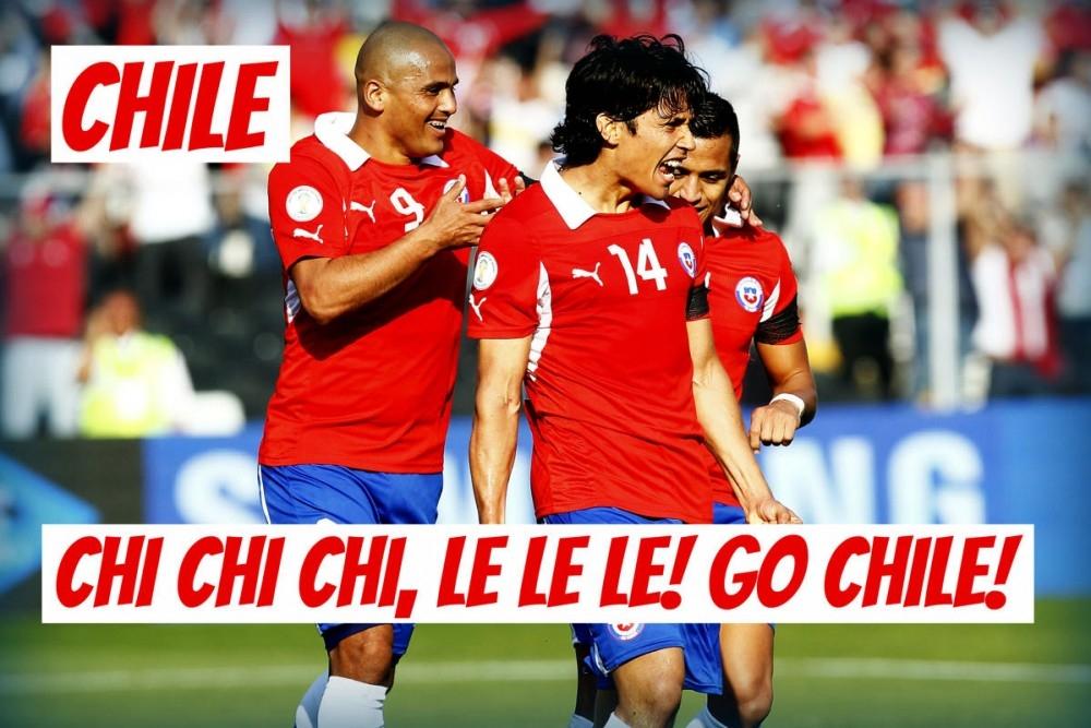 Chi Chi Chi!, Le Le Le! Tiến lên Chile!