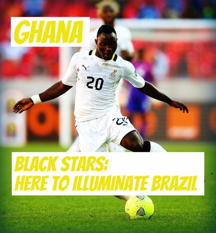 Những ngôi sao đen: Ở đây để tỏa sáng Brazil!