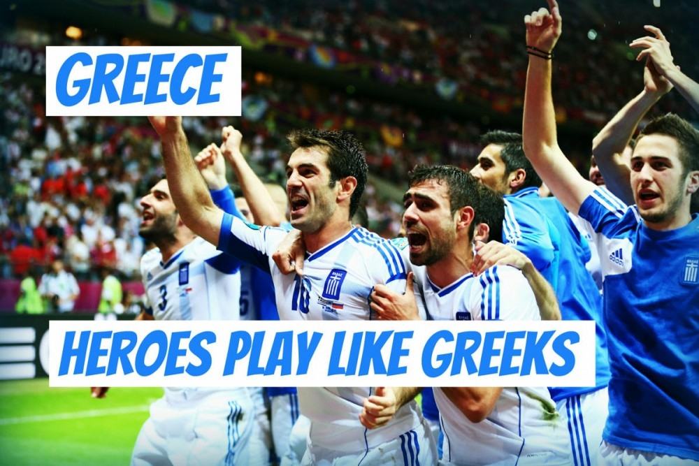 Những người anh hùng thi đấu như tinh thần người Hy Lạp!
