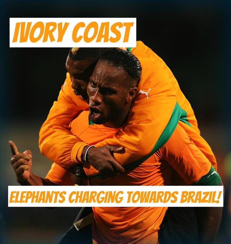 Bầy voi hướng về Brazil!