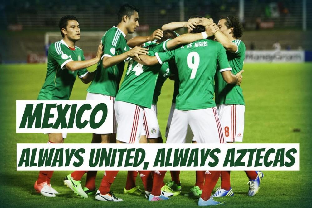Luôn đoàn kết, luôn là Aztecas!