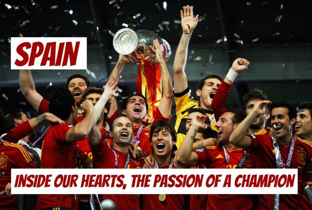 Trong trái tim của chúng ta, đam mê của nhà vô địch!