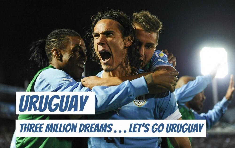 Ba triệu giấc mơ… Tiến lên Uruguay!