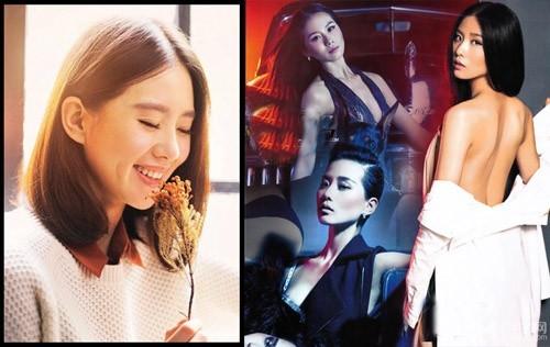 Lưu Thi Thi nổi tiếng với hình ảnh ngọc nữ trong sáng, thánh thiện không kém thần tiên tỷ tỷ Lưu Diệc Phi. Tuy nhiên, nàng Nhược Hy của Bộ bộ kinh tâm khiến fan bất ngờ với shoot hình cực gợi cảm và táo bạo trên tạp chí FHM tháng 11/2012.