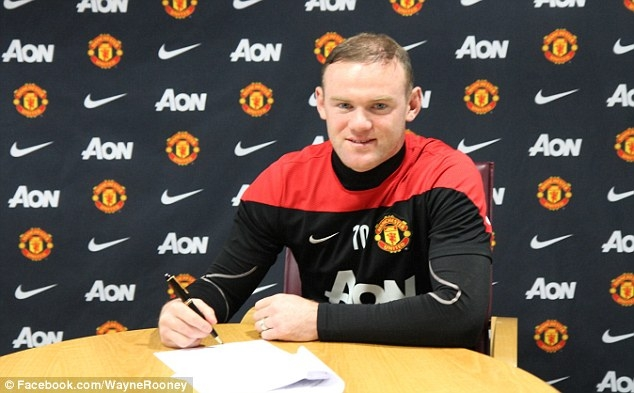 Rooney đang là cầu thủ lãnh lương cao nhất M.U