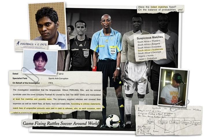 [Bóng Đá] World Cup 2014 bị xã hội đen thao túng?
