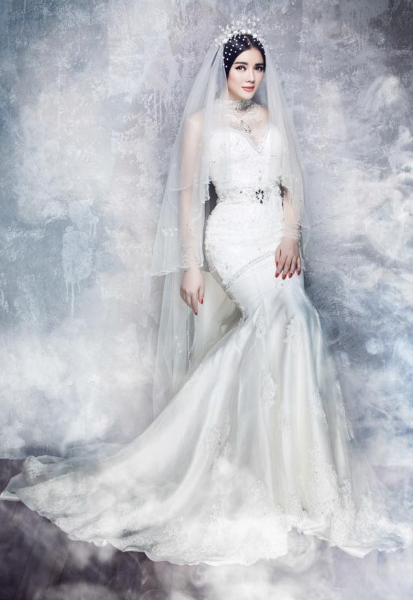 Lý Nhã Kỳ mặc váy cưới và tuyên bố rút khỏi showbiz - Tin sao Viet - Tin tuc sao Viet - Scandal sao Viet - Tin tuc cua Sao - Tin cua Sao