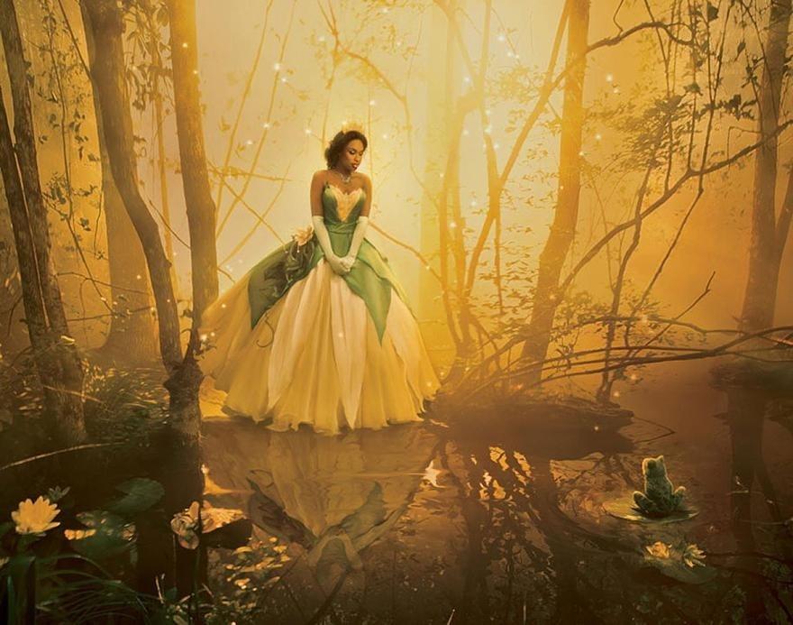 18 bức ảnh dàn sao nổi tiếng hóa thân vào các nhân vật của Disney (đang làm)