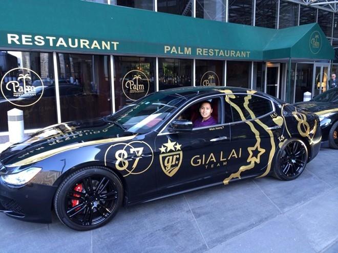Mẫu sedan Maserati Ghibli. Tại Mỹ, mỗi chiếc Ghibli có giá khoảng 105.000 USD.