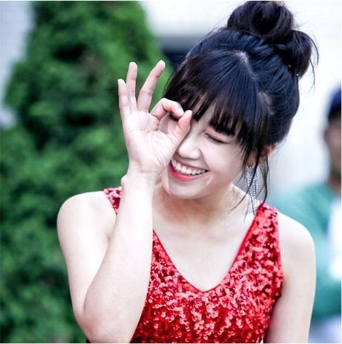 Eunji cười tít mắt với vai diễn mới