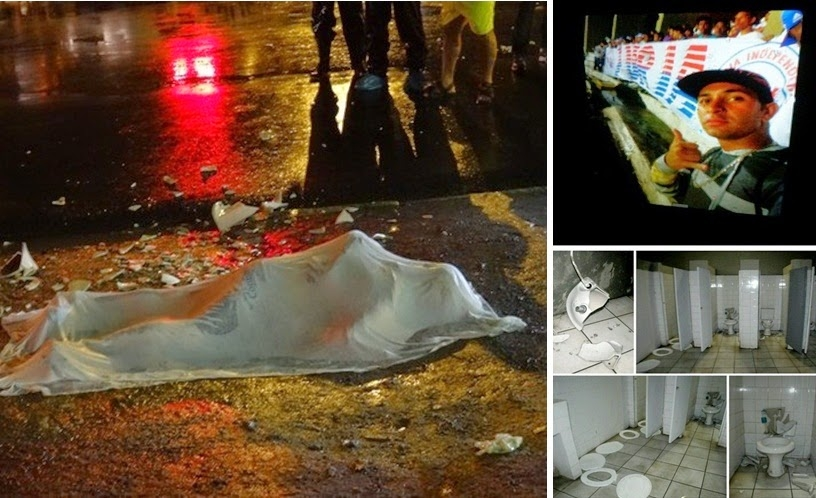 Vụ xô xát sau trận đấu giữa Santa Cruz và Parana làm một người thiệt mạng