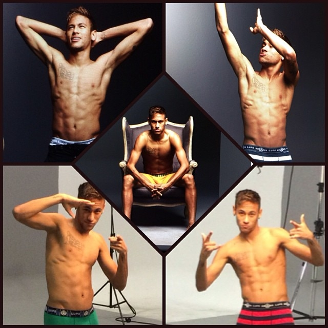 Neymar, poster boy của Brazil