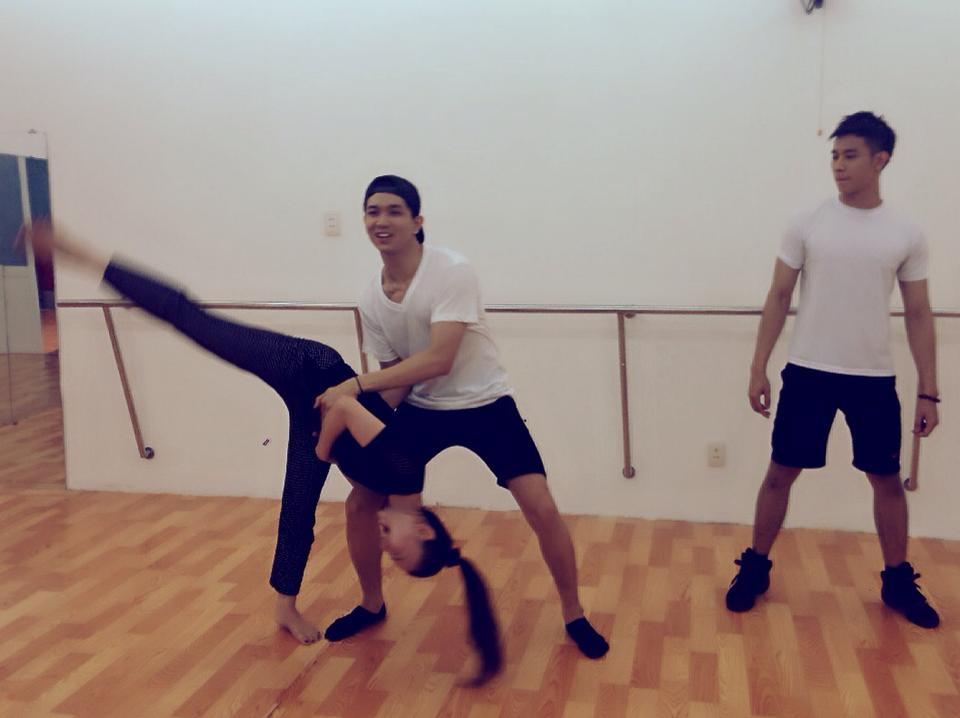 Thu Thủy bị Tim và Hồ Vĩnh Khoa...quăng quật (?!) có lẽ nào nữ hoàng khiêu vũ sắp trở lại với sân khấu dancesport?