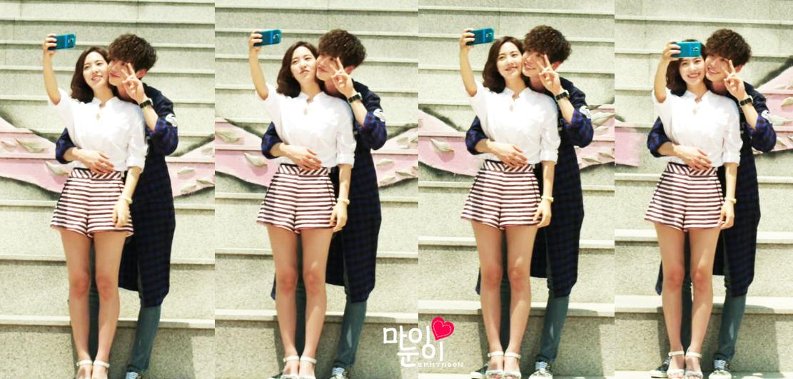 Lee Jong Suk tình tứ bên Jin Se Yeon