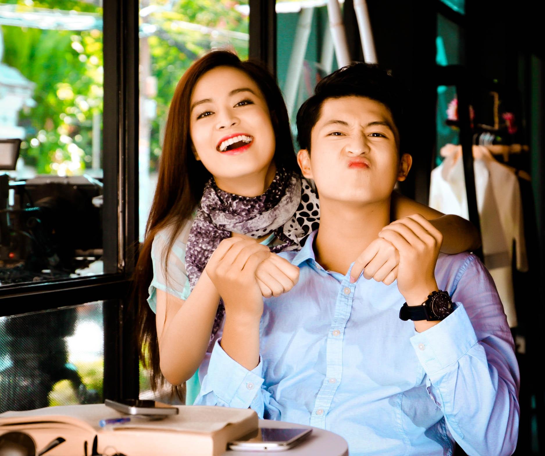 """Cặp đôi """"trong sáng"""" và cực kỳ đáng yêu - Tin sao Viet - Tin tuc sao Viet - Scandal sao Viet - Tin tuc cua Sao - Tin cua Sao"""