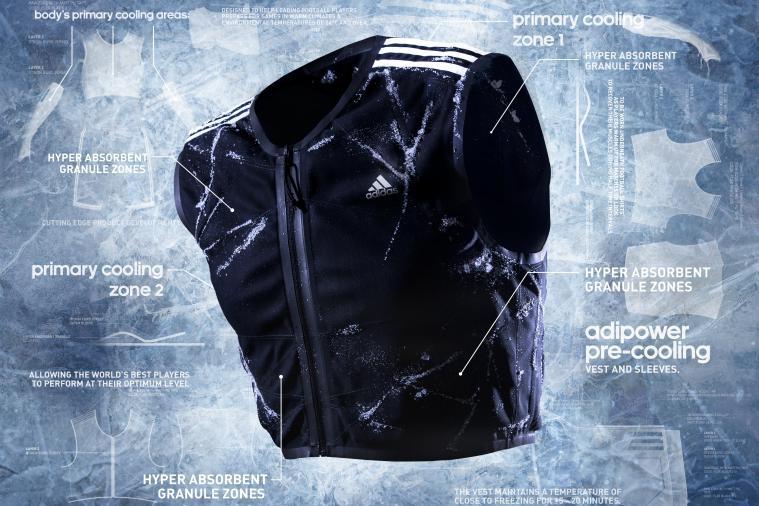 Chiếc áo Adipower được Adidas thiết kế riêng cho World Cup 2014