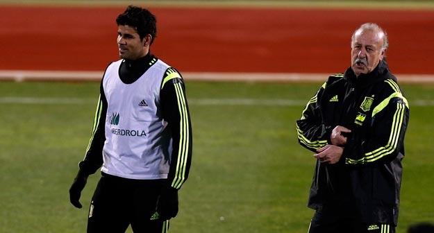 Diego Costa phản bác luận điệu của Felipe Scolari