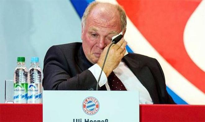 Uli Hoeness có thể phải nộp phạt số tiền lên tới 50 triệu euro.