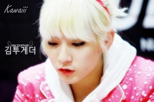 Mỹ nam Hàn sở hữu đôi môi căng, hồng như con gái
