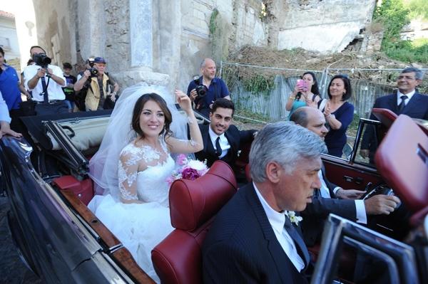 Carlo Ancelotti và con gái Katia