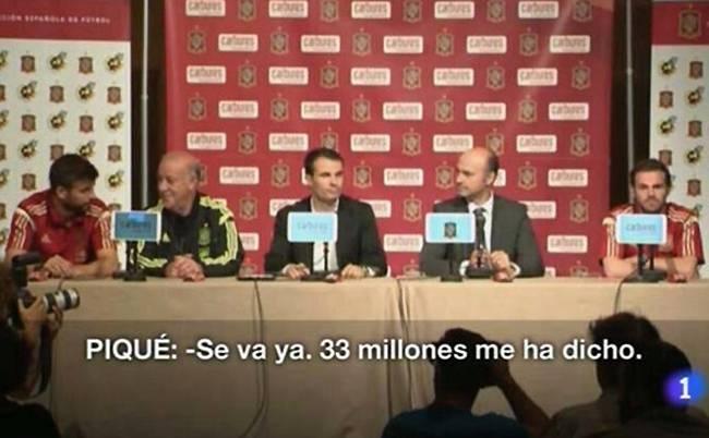 Pique đã tiết lộ Barca thu về 33 triệu bảng từ vụ Fabregas