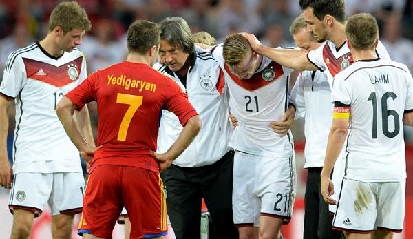 Marco Reus dính chấn thương đáng tiếc trước thềm World Cup 2014