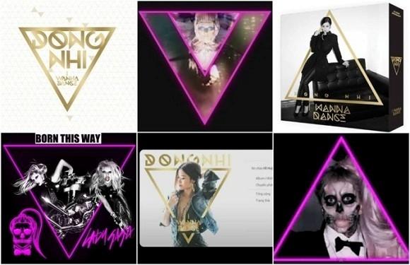 Ý tưởng ảnh bìa album vol.2 có quá nhiều ý tưởng trùng với Lady Gaga. - Tin sao Viet - Tin tuc sao Viet - Scandal sao Viet - Tin tuc cua Sao - Tin cua Sao