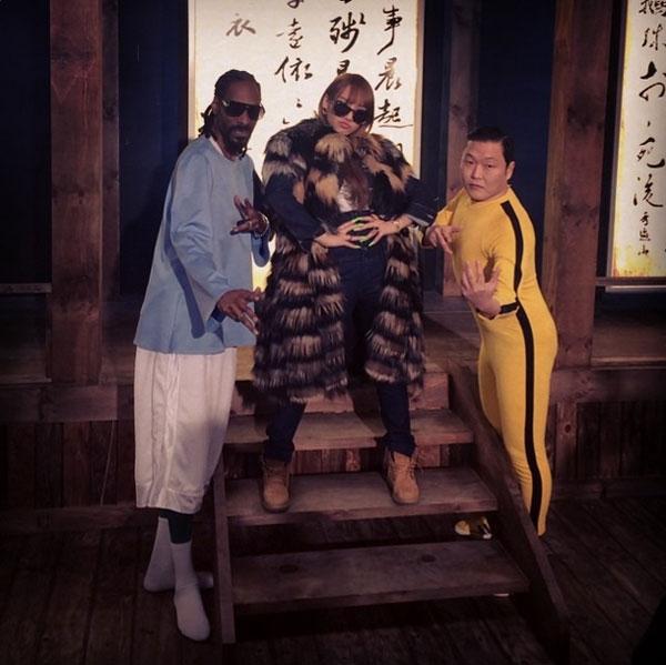 CL khoe hình xuất hiện trong MV mới của PSY - Hangover