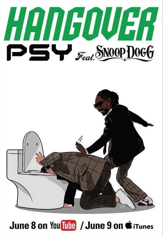 PSY phát hành bom tấn Hangover kết hợp cùng Snoop Dogg