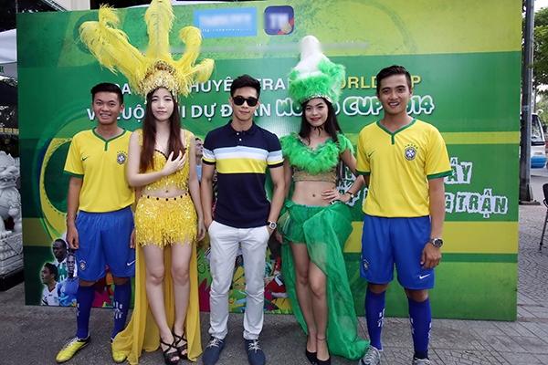 Dàn mỹ nhân Việt rạng rỡ đón World Cup